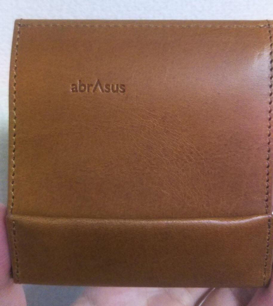 ブッテーロレザーの薄い財布