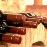 自宅に並ぶワイン