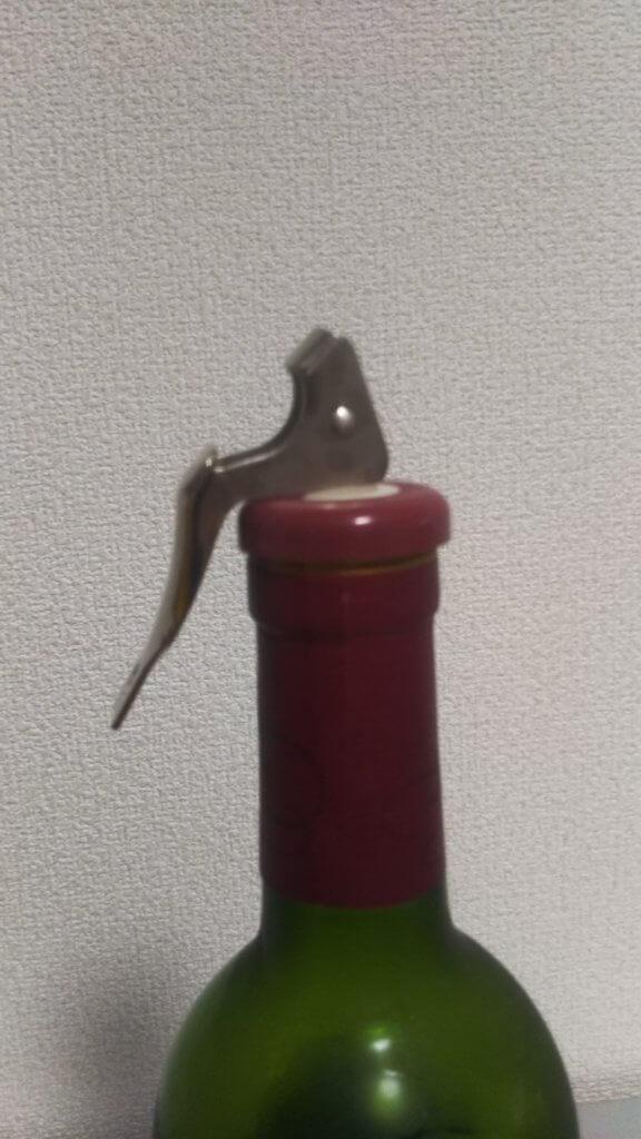 ワインボトル栓使い方