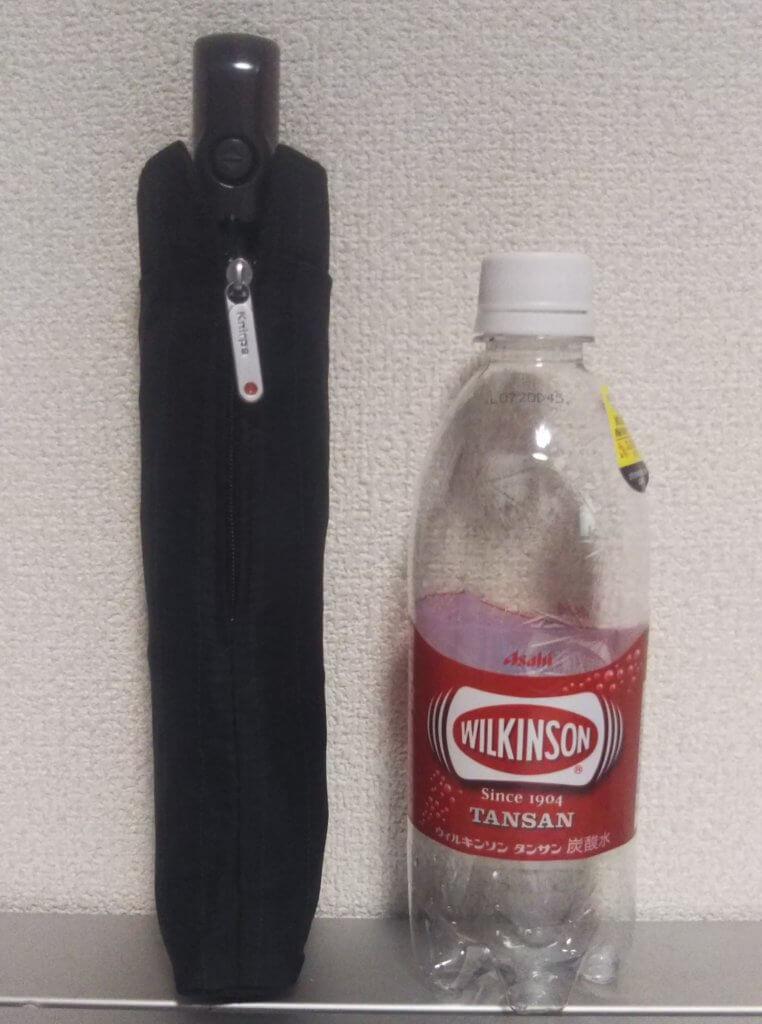 クニルプスをペットボトルと比較