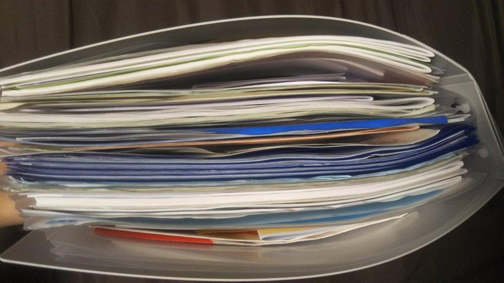 スキットマンで家中の書類を収納
