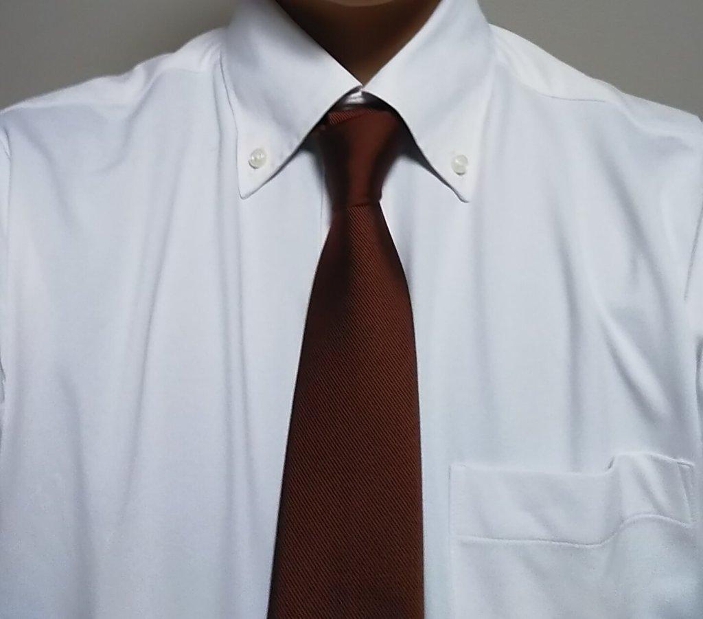 ワイシャツで隠れるウィンドシールドボルカ