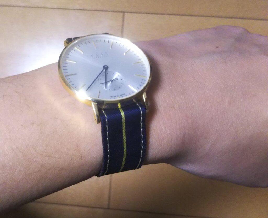 knotの腕時計