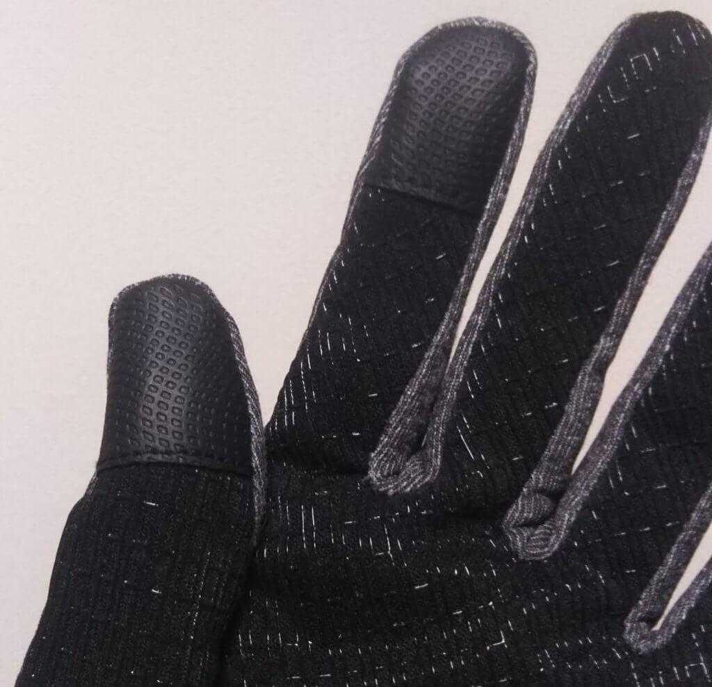 スマホ対応の親指と人差し指