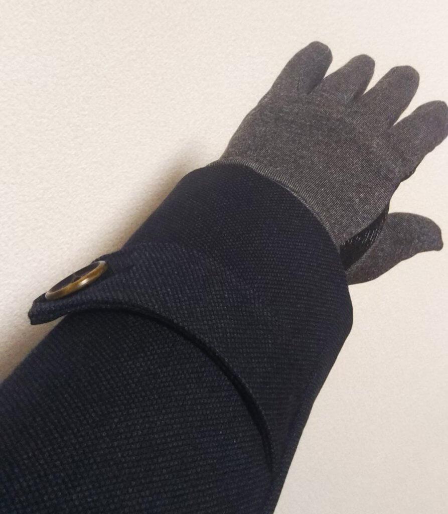 コートにも合うワークマン手袋