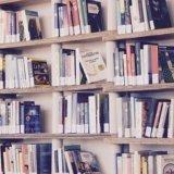 読まれるのを待っている大量の本
