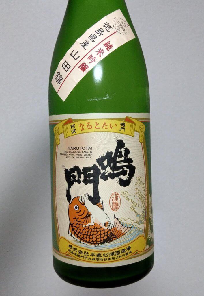 徳島のお酒:鳴門鯛